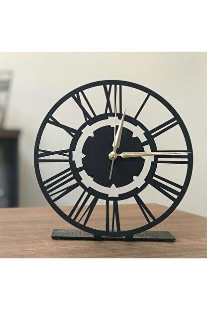 Pirudem Masaüstü Metal Ürünler - 20x20 Cm Metal Masaüstü Saat - Metal Sanatları