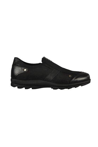 Jump Hakiki Deri Siyah Erkek Ayakkabı
