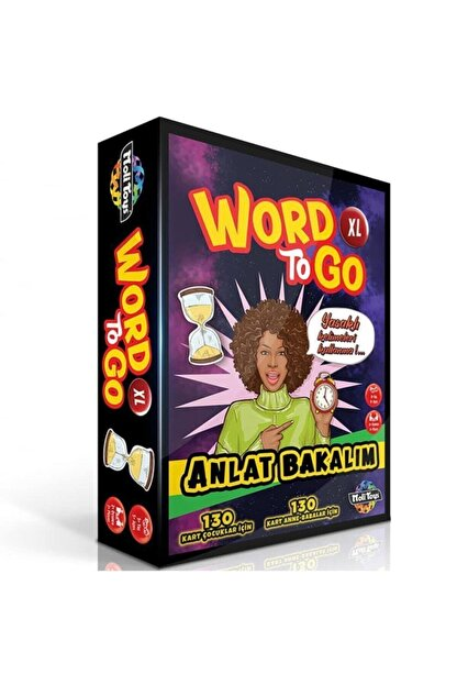 Moli Toys Word To Go Xl - Anlat Bakalım -tabu Xl Benzeri