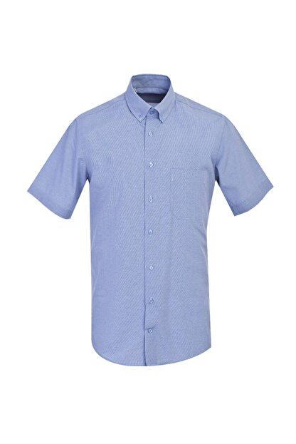 Kiğılı Regular Fit Kısa Kol Desenli Gömlek