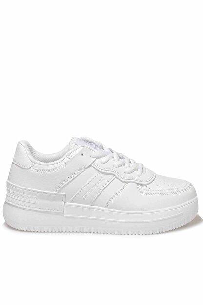 Lumberjack Kadın Beyaz Günlük Spor Ayakkabı