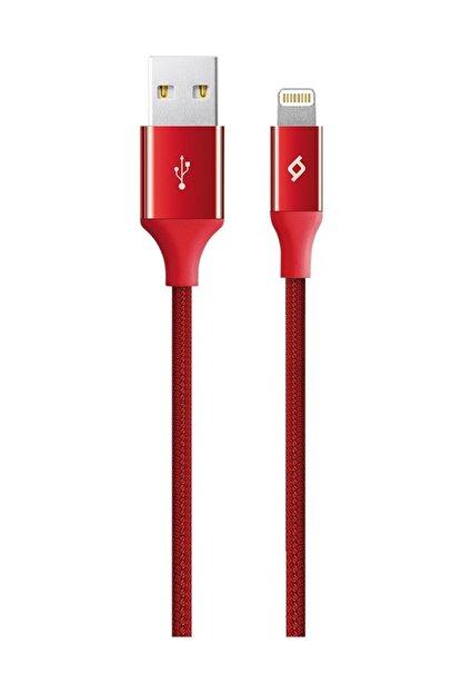 Ttec Kırmızı Alumicable iPhone Uyumlu Şarj Kablosu 2dk16k