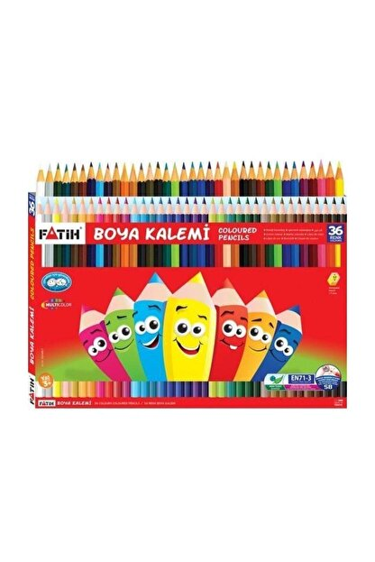 Fatih Tam Boy Kuru Boya 36 Renk fa33245