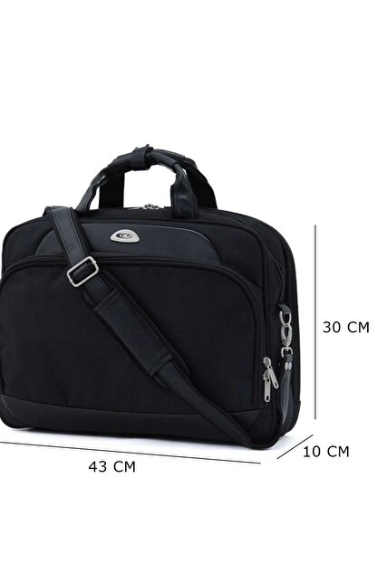 ÇÇS Siyah Unisex Laptop/Evrak Çantası Ccs70065