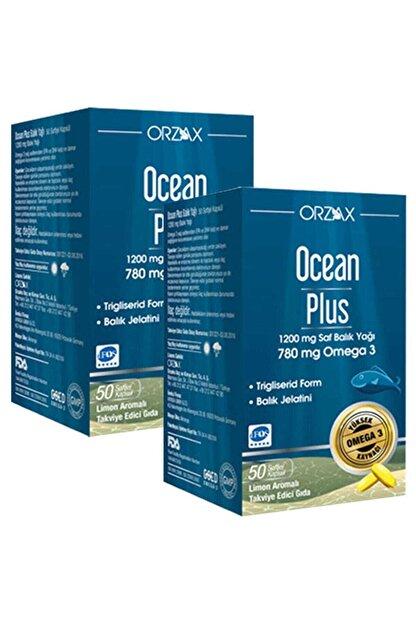 Orzax Plus 1200 Mg Omega3 Balık Yağı 50 Kapsül 2 Adet Skt: 04/2023