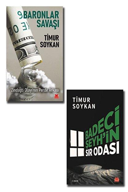 Kırmızı Kedi Yayınları Timur Soykan 2 Kitap( Badeci Şeyh'in Sır Odası - Baronlar Savaşı - Zindaşti Olayı'nın Perde Arkası )