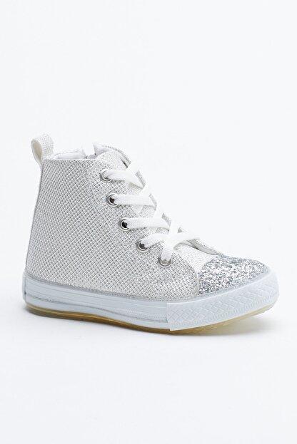Tonny Black Buz Çocuk Spor Ayakkabı Uzun Tb999