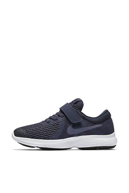 Nike Lacivert Revolution 4 Psv Unisex Çocuk Ayakkabı 943305
