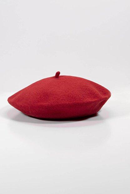 Addax Kadın Kırmızı Ressam Şapka