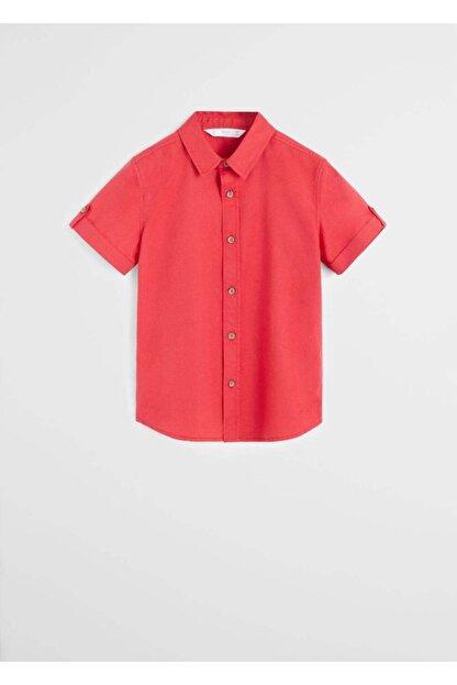 Mango Kısa Kollu Gömlek 67060521