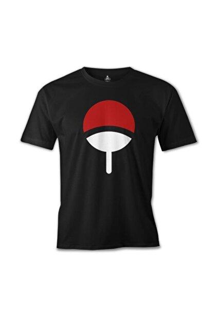 Lord T-Shirt Erkek Siyah Naruto - Uchiha Clan T-Shirt os-1039