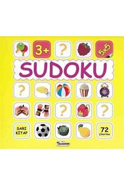Teleskop Popüler Bilim Sudoku 5x5 Sarı Kitap