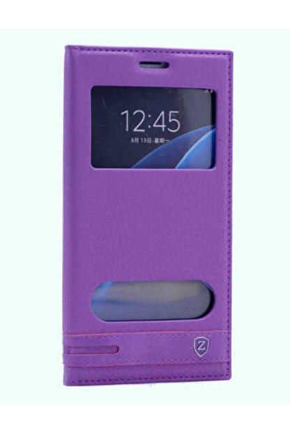 Samsung Galaxy C7 Uyumlu Kapaklı Kılıf