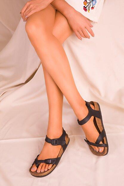 Soho Exclusive Siyah Kadın Sandalet 15922