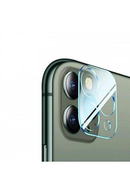 Telehome Iphone 12 Pro Uyumlu Max Kamera Koruyucu -9d Kırılmaz Cam Lens Koruma