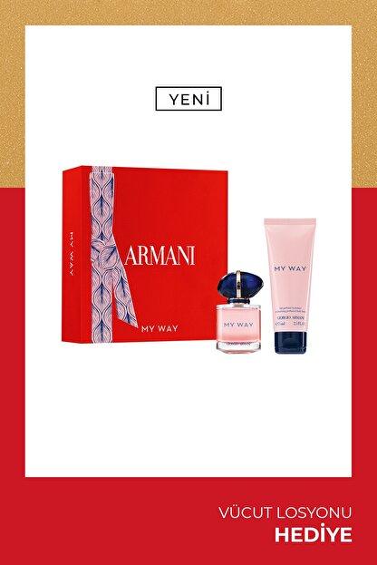 Giorgio Armani My Way Edp Kadin Parfüm Seti 30 Ml 3614273375764