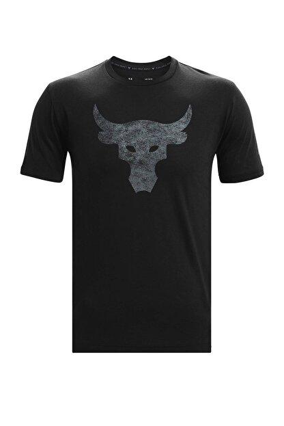 Under Armour Erkek Spor T-Shirt - UA Pjt Rock Brahma Bull SS - 1361733-001