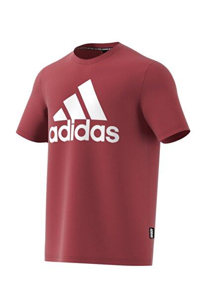 adidas MH BOS TEE Kırmızı Erkek T-Shirt 101118094