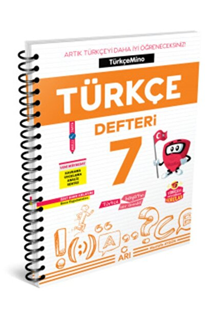 Arı Yayıncılık 7.sınıf Akıllı Türkçe Defteri