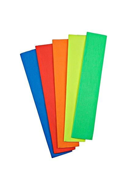 nova color Fosforlu Grapon Kağıdı 5 Renk Karışık 50 Cm X 200 Cm. Kampanyalı