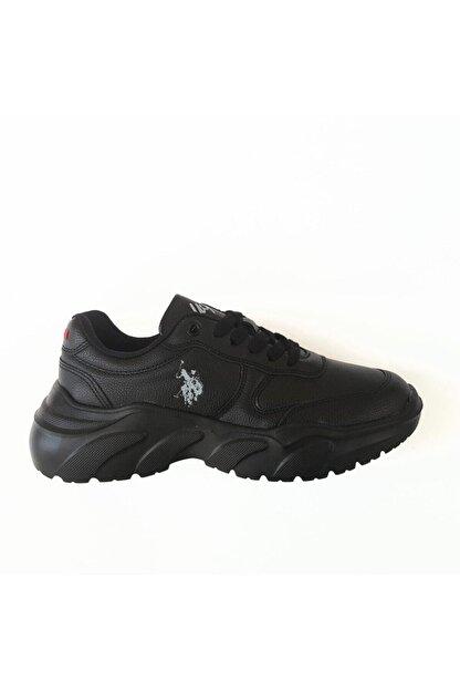 US Polo Assn LOVELY Siyah Kadın Fashion Sneaker 100551393