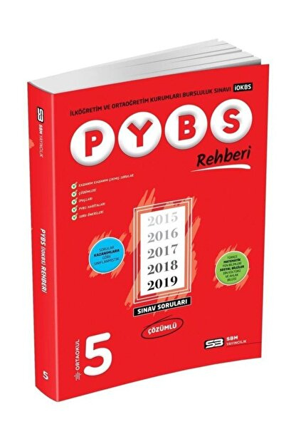 Sbm Yayıncılık 5. Sınıf Pybs Rehberi