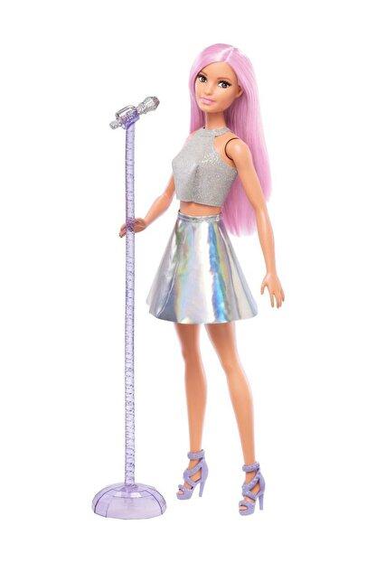 Barbie Pop Star Bebek ve Mikrofonu FXN98-DVF50