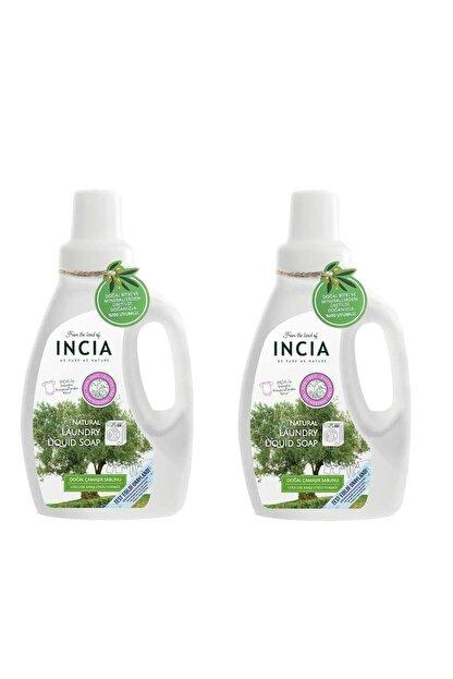INCIA Doğal Çamaşır Sabunu 750 ml Çamaşır Makinesi Için 2 Adet