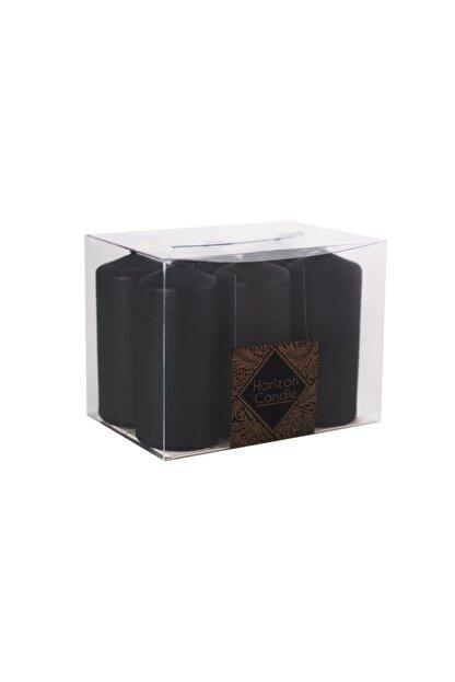 Horizon Mum Bar Mum Siyah 6'lı Paket