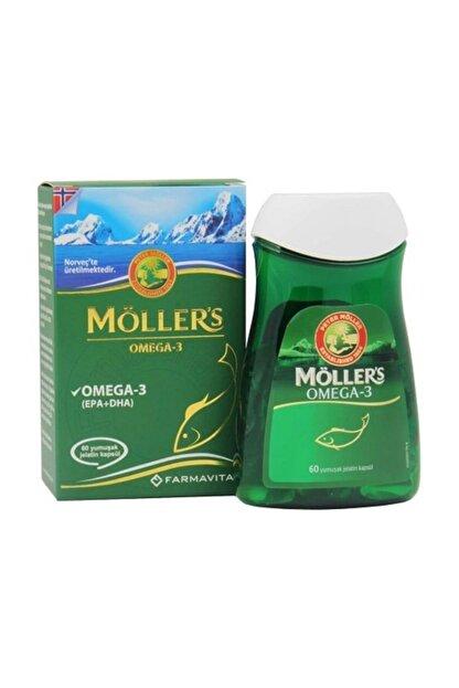 Mollers 's Omega 3 60 Kapsül
