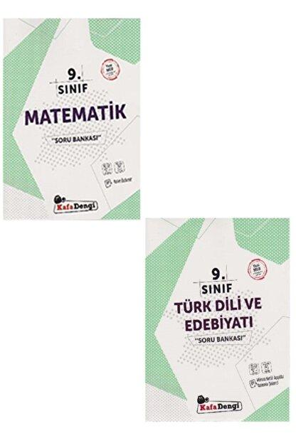 Kafa Dengi Yayınları Kafa Dengi 9. Sınıf Soru Bankası Matematik, Türk Dili Ve Edebiyatı Set (kalem Set Hediye)