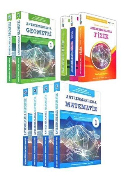Antrenman Yayınları Antrenmanlarla Matematik 1-2-3-4 + Geometri 1-2 + Fizik + Kimya + Biyoloji Süper Set 2020