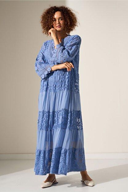 Camena Dantel Detaylı Elbise 2019070500211