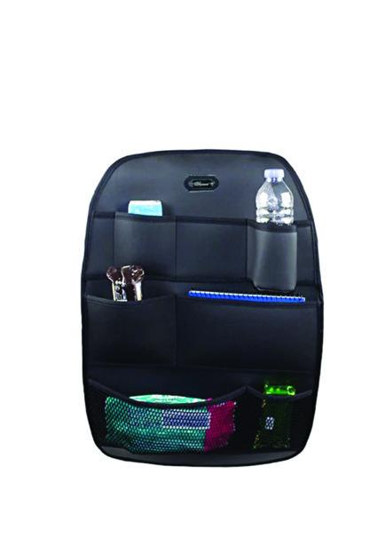 AutoFresh Ford Fiesta Vı 2011 Koltuk Arkası Ceplik Seyahat Erzak Telefon Tablet Koruyucu Deri Kılıf