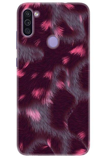 Noprin Samsung Galaxy M11 Kılıf Silikon Baskılı Desenli Arka Kapak