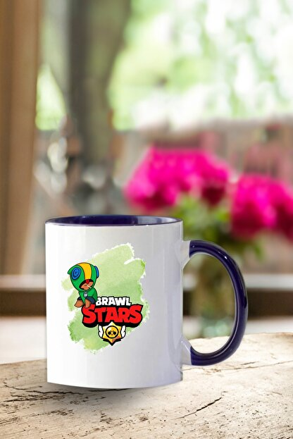 GiftStore Brawl Stars - Leon- Lacivert Kupa-21