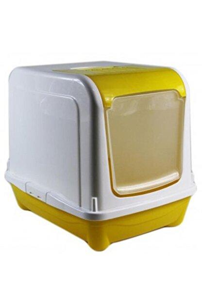CANPET Üstü Açılır Filtreli Tuvalet Kedi Oltası Hediyeli
