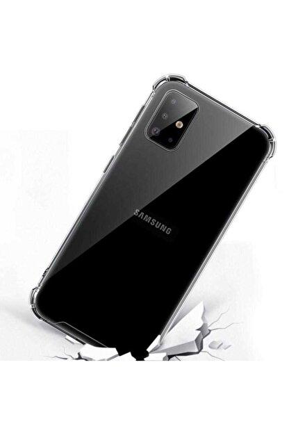 Mobilteam Samsung Galaxy S20 Anti-shock Şeffaf Kapak