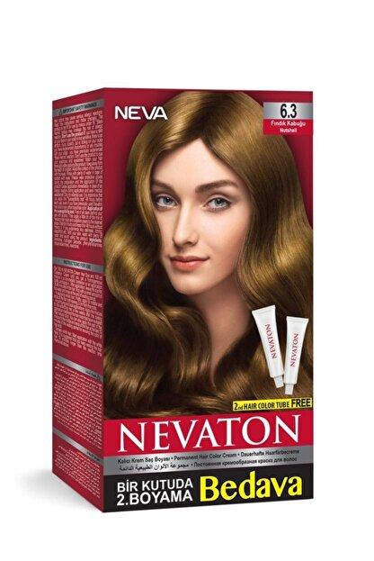 Neva Ton Saç Boyası Seti 6.3 Fındık Kabuğu