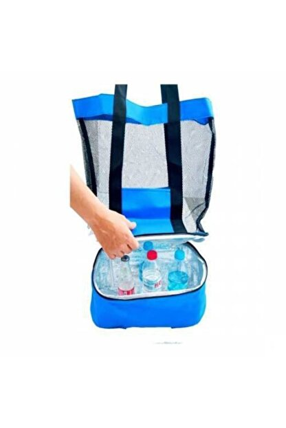 Emroto Ssangyong Actyon Mavi 40 Litre Soğuk Sıcak Tutucu Çanta