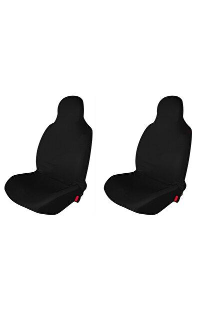 1araba1ev Peugeot 407 Araç Servis Atlet Kılıf Penye Ön 2 Koltuk Siyah
