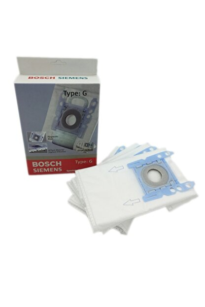 Popüler Bosch Prosilence 59 - 2100 - 920 Toz Torbası 4 Adet +micro Filtre