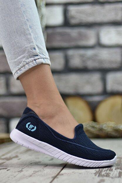 Riccon Lacivert Kadın Sneaker 0012553