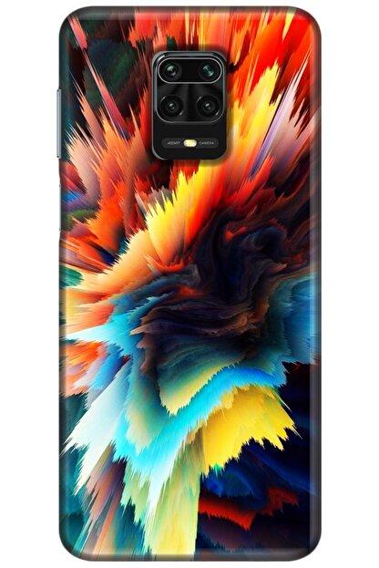 Turkiyecepaksesuar Xiaomi Redmi Note 9 Pro Kılıf Silikon Baskılı Desenli Arka Kapak
