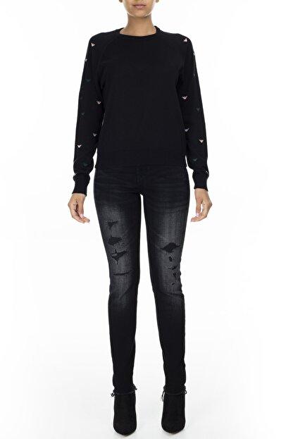 Armani Exchange Kadın Siyah Jeans Kot Pantolon J01