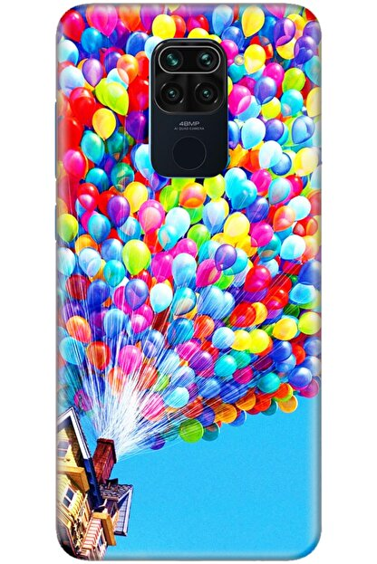Turkiyecepaksesuar Xiaomi Redmi Note 9 Kılıf Silikon Baskılı Desenli Arka Kapak