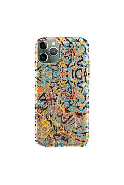 cupcase Iphone 11 Pro Kılıf 5.8 Inc Simli Parlak Kapak Gold Renk - Stok258 - Muslim Paint