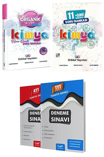 Orbital Yayınları Organik Kimya Soru Bankası + 11. Sınıf Kimya Soru Bankası + Deneme Seti