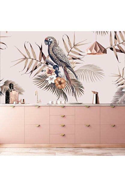 Bigaimaj Duvar Kaplama Folyosu Tropik Papağan