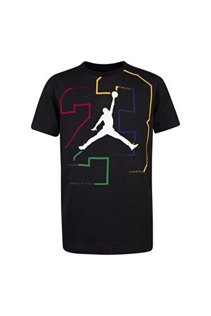 Nike Unisex Çocuk Siyah Nıke Jordanjdb Path Of Greatness T-Shirt